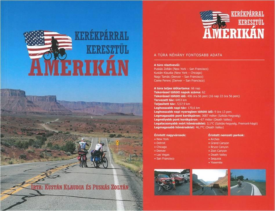 MEGHÍVÓ KÖNYVBEMUTATÓRA - Kerékpárral keresztül Amerikán