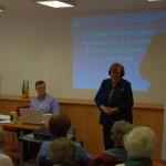 Dr. Árvai György előadása Izraelről a Hölgyklubban - képes beszámoló
